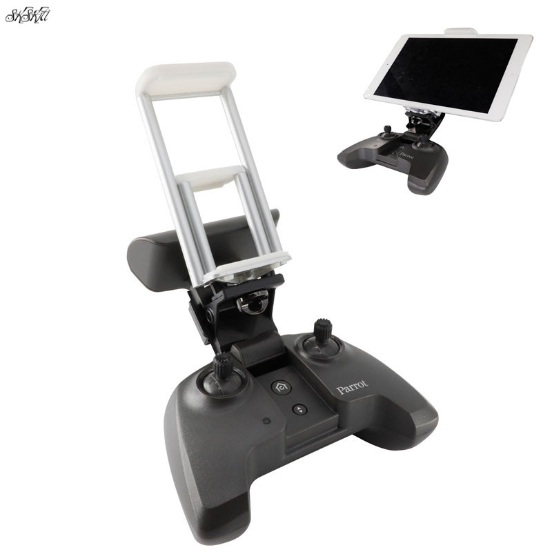 US $11 28 14% OFF|Parrot Anafi Remote Control extension bracket mobile  phone Tablet Extended Holder Mount for Parrot ANAFI Drone Accessories-in  Remote