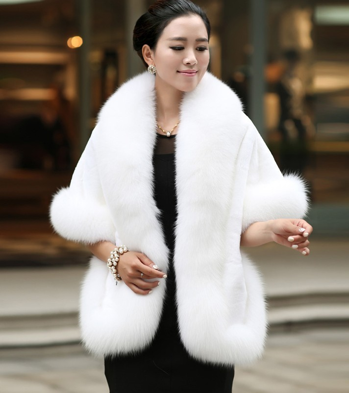 In-Stock-2016-Hot-Sales-Ivory-Fashion-Bridal-Wraps-Faux-Fur-Bolero-Women-Jacket-Wedding-Accessories