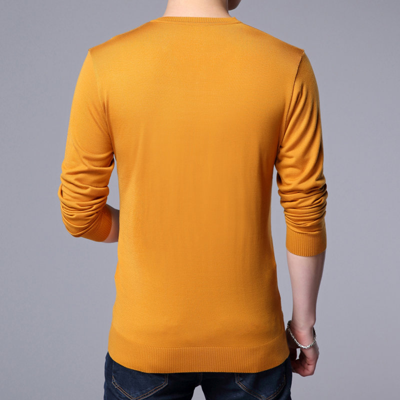 Men's Clothing ... Sweaters ... 32792237527 ... 5 ... COODRONY Knitted Wool Pullover Men Casual V-Neck Sweater Men Brand Clothing Mens Cotton Sweaters Slim Fit Pull Homme Shirts 7129 ...