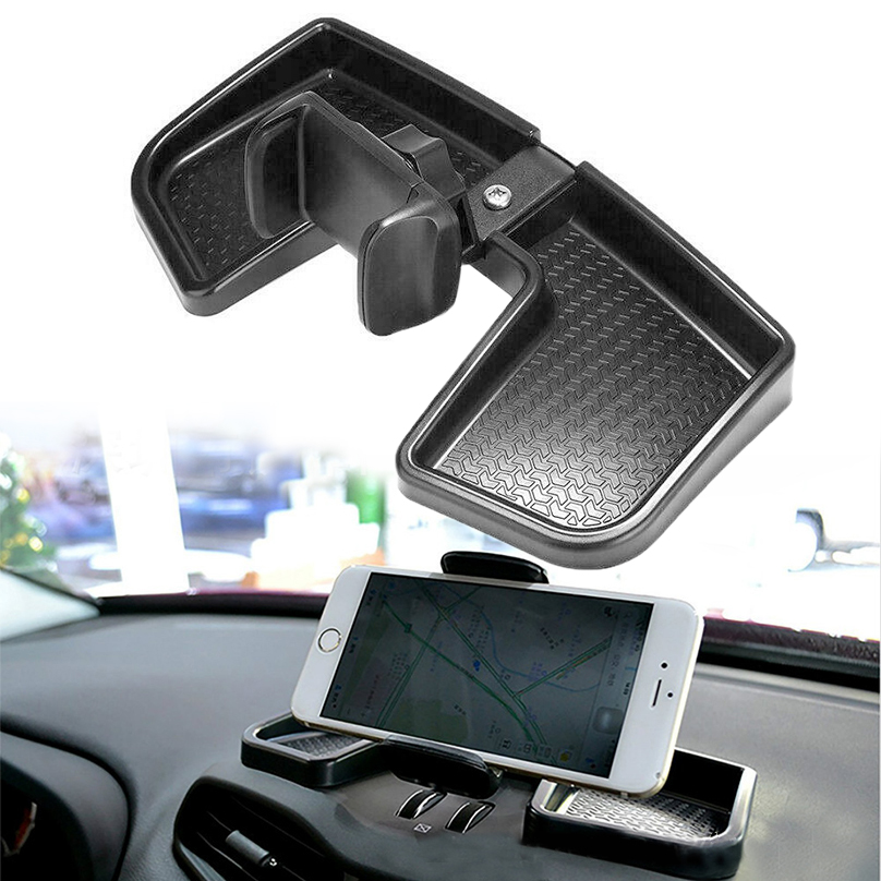 360 Rotating Car Dashboard Mount Cell Phone Bracket GPS Support Holder for Jeep Renegade 2014 2015 2016 2017 Car Accessories image