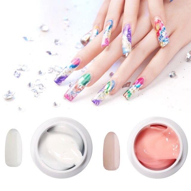 Nail art 3d blanc
