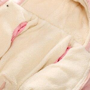 Image 5 - Ircomll Winter Baby Baby Meisje Jongen Romper Herfst Jumpsuit Hooded Binnenkant Fleece Toddle Winter Herfst Overalls Kinderen Bovenkleding