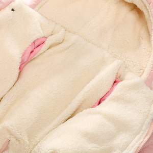 Image 5 - Ircomll Winter Infant Baby Girl Boy Romper Autumn Jumpsuit Hooded Inside Fleece Toddle Winter Autumn Overalls Children Outerwear