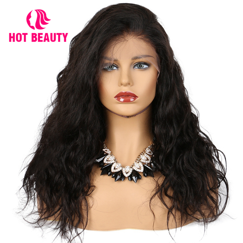 Hot Beauty Hair Lace Wigs 150 Density Human Hair Wig Lace Front Wigs With Baby Hair