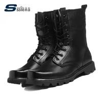 Botas De Homens do exército Calçado Macio Clássico Outono Homens Botas de Moda De Alta Qualidade Sapatos AA20087