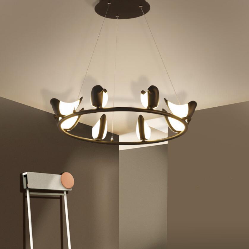 Moderne art vogel led Hanglampen led lampen heldere hoge power led ...