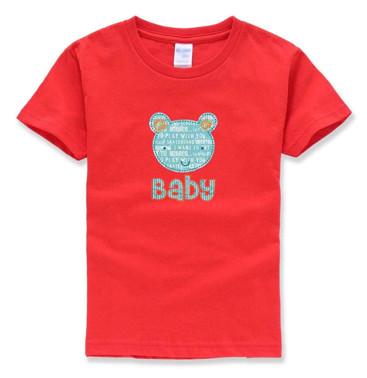 baby brief afdrukken tops tee shirts zomer 2018 nieuwe mode baby - Kinderkleding
