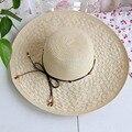 MS летом пляж шляпа Чистый цвет джокер тени большая шляпа горячий стиль Красивые и удобные летние тенденции