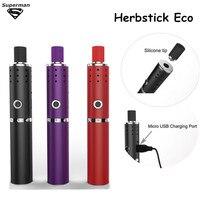 2015 New Arrival Herbstick Eco Vaporizer 2200mah Temperature Control Airflow Hole Mini Vape Pen Herbal Vaporizer