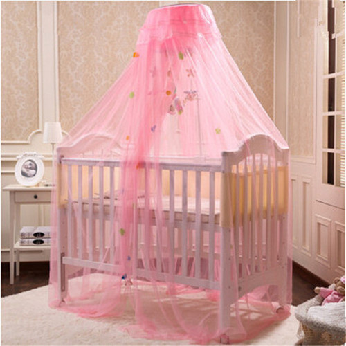 New Arrival Children Bed Net Yellow White Pink Baby Crib Mosquito Infant Kids Canopy Tent Cortina Para Cama Dossel In Netting From Mother
