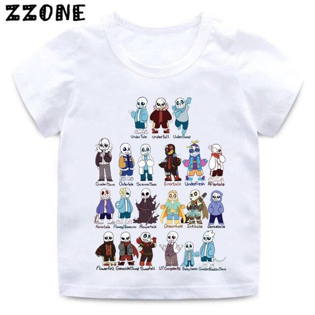23f489cbbc794 Футболка для мальчиков и девочек с принтом черепа, брата и Санса, забавная белая  футболка