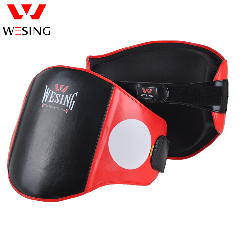 Wesing ba lly pad belly pad waist protector for MMA BOXING MUAY THAI BOXING TAEKWONDO KARATE  TRAINING multifunction targets kicking pads boxing muay thai mma taekwondo wing chun dummy pad training equipment double target mitt