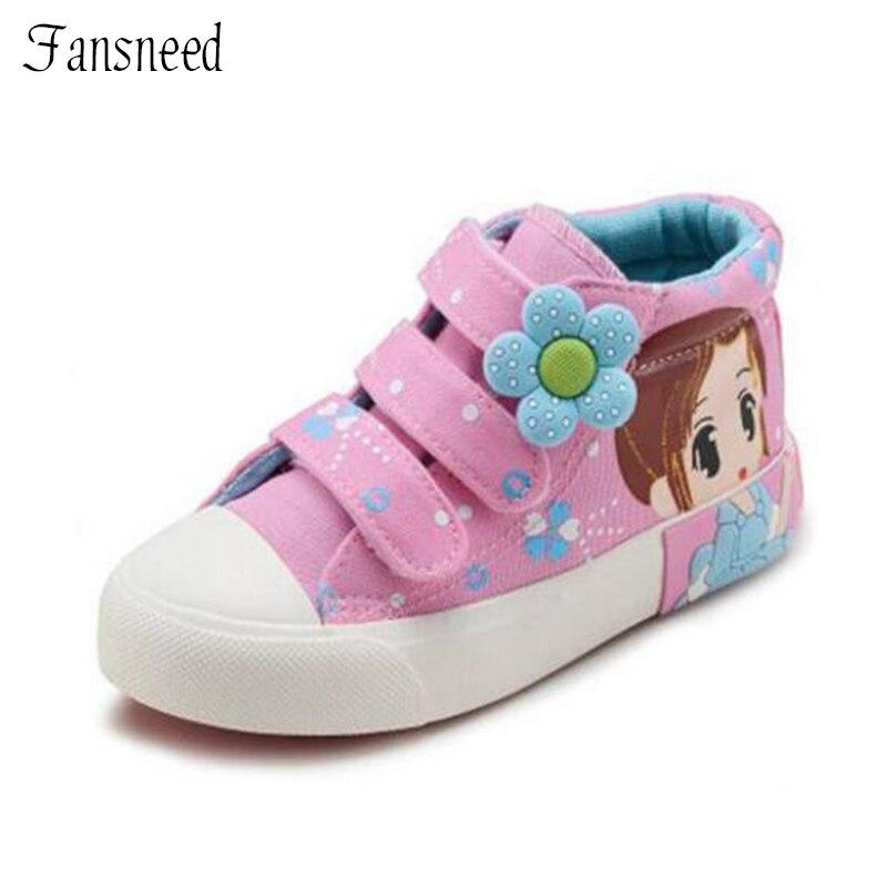 Детская обувь для девочек обувь весна 2018 г. новое платье принцессы детская парусиновая обувь Magic Stick детская обувь