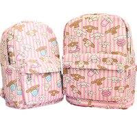 40cm Japanese Anime Sanrio My Melody Pudding Cinnamoroll Dog Kitty Soft Canvas Plush Kitty Bag