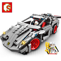 Automobile Model Toxic Machine Code Series Children's Intelligence Assembling Building Block Toys Boy gifts No box
