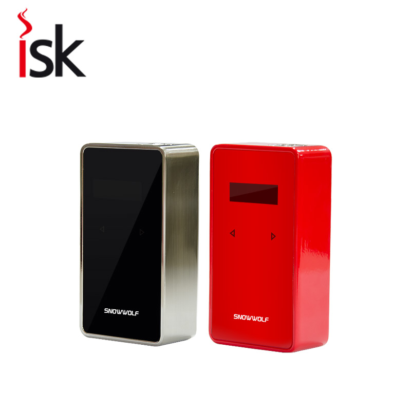 Electric cigarette china Sigelei Snowwolf  200w Plus  box  Mod  metal vape 18650