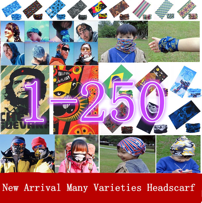 SexeMara Headband Scarves Face Solid Bandanas 1000pcs/lot