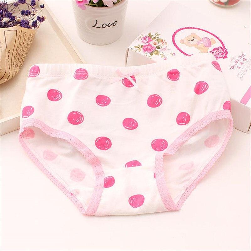 Baby Girls 4pcs/pack panties shorts Fashion Baby Underwear Cotton Panties For Girls Kids Short Briefs Children Underpants 1