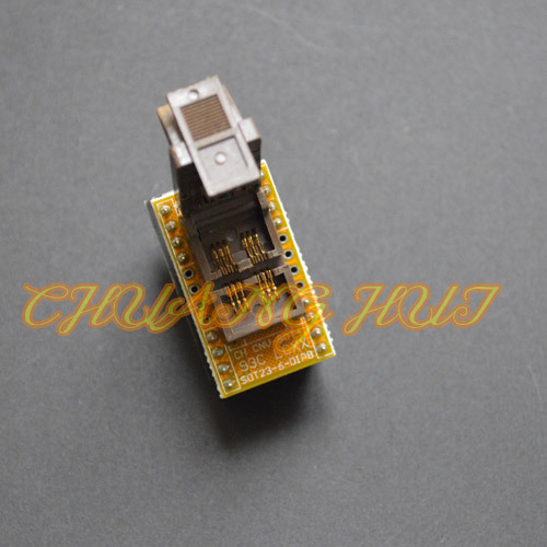 IC TEST SOT23-6 to DIP8 Programmer Adapter for 93xx eeprom test socket  Apply to CH2013/CH2015 Programmer