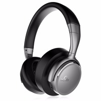 iDeaUSA V203 Wireless Headphones with Mic aptX HiFi Sound Lightweight CVC Noise Cancelling Headphone Bluetooth 4.1 + EDR