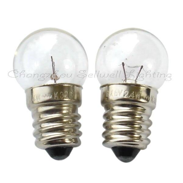6v 2.4w E10s G14 New!miniature Lamps Bulbs A071