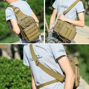 Image 5 - Mochila De Pesca bolsas de escalada mochila de hombro militar al aire libre, mochila para deporte, Camping, bolsa de pesca Molle Army XA36G