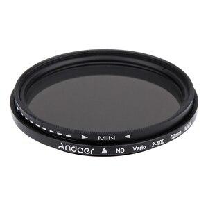 Image 5 - Andoer 52mm ND Filter Fader Neutral Density Einstellbare ND2 zu ND400 Variable Filter für Canon Nikon DSLR Kamera