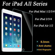 Tempered Screen Glass for iPad 2 3 4 Protective Film For iPad Mini 1 2 Mini3 Air 1 2 For Table Screen Protector