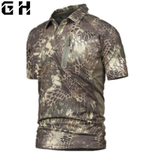 Men's camouflage t shirt(China)