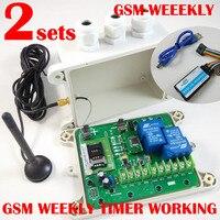 GSM дистанционного управления окна (модель: GSM еженедельно) (weeky Функция таймера) сигнал тревоги вход батареи на борту