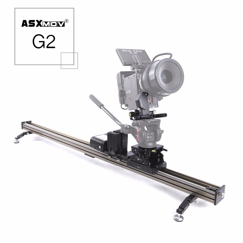 G2 2 axis Panoramic focus timelapse dolly track motorized video slider dslr camera slider for canon for sony for digital camers