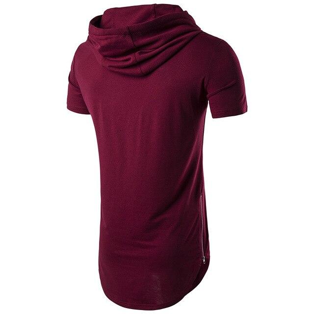 Été Hommes De Mode T-Shirts de Ligne D'impression Noir Marque Vêtements Homme À Manches Courtes Slim Fit T Shirts Hommes Tops