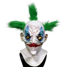 Halloween old evil scary creepy costume latex circus clown mask