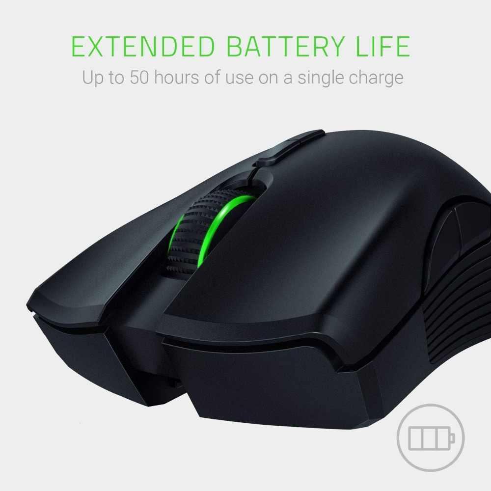 0248d7ff623 Razer Mamba Wireless Gaming Mouse True 16000 DPI 5G Optical Sensor 7  Programmable Buttons ...