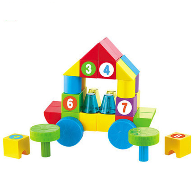 80PCS Baby Magnetic Constructor Funny Bricks Toy Set Magic Model Building Blocks Kit Educational Toys For Children constructor