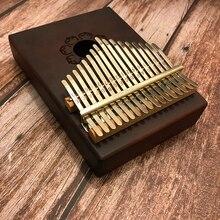 Mw 17 Key Thumb Piano Fienger Paino Mahogany Kalimba Piano African Thumb Piano Music Gift Easy to Learn