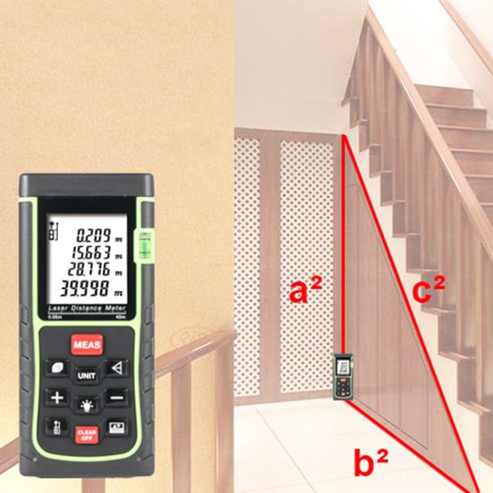 ACEHE Laser Distance meter Rangefinder Range finder Roulette Digital Tape Measure Diastimeter Area Volume Device Digital 100m digital lcd laser distance meter measure range finder area diastimeter