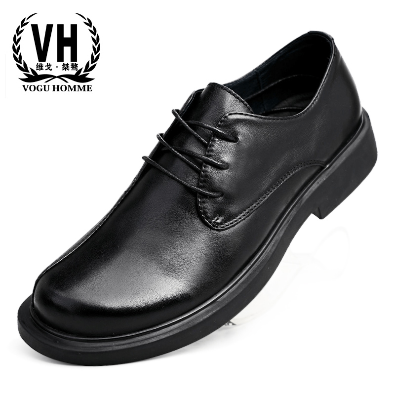Genuine Leather Casual shoes mens British thick bottom men lace-up business shoes designer shoes men high quality cowhideGenuine Leather Casual shoes mens British thick bottom men lace-up business shoes designer shoes men high quality cowhide