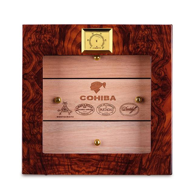 humidor three layers of natural mellow cedar wood large capacity cigar moisturizing box