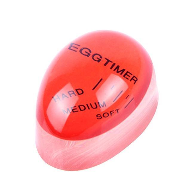 Таймер мягкие вареные яйца приготовление пищи кухня Экологичная Смола яйцо красный таймер инструменты