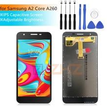 Samsung Galaxy A2 Çekirdekli LCD ekran dokunmatik ekranlı sayısallaştırıcı grup Galaxy A260 SM A260F/DS A260F a260g LCD tamir parçaları