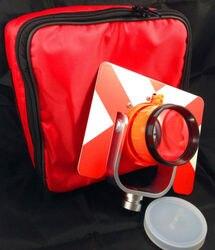 Nowy czerwony zestaw pryzmatyczny z torbą do stacji topcon/sokkia/nikon/Pentax