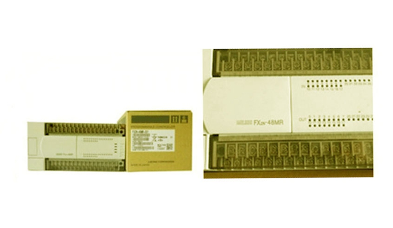 NEW FX2N-80MR-001 PLC Main Unit DI 40 DO 24 Relay AC 220V melsec plc fx1n 60mr 001 fx1n 60mr001 main unit ac 220v 36di 24do relay ac power freeshipping extendibility i o fx1n60mr001
