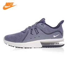 NIKE AIR MAX SEQUENT Men's Running Shoes ,Outdoor Sneakers Shoes, Grey Black, Shock Absorbing Breathable 921694-009  921694-402