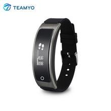 Teamyo i8 смарт-группы часы сердечного ритма артериального давления fitnee трекер с шагомер смарт браслет для iphone samsung xiaomi