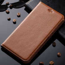 Case For Asus Zenfone 2 ZE500CL Genuine Leather Magnetic Stand Flip Case Cover Phone Bag + Free Gifts