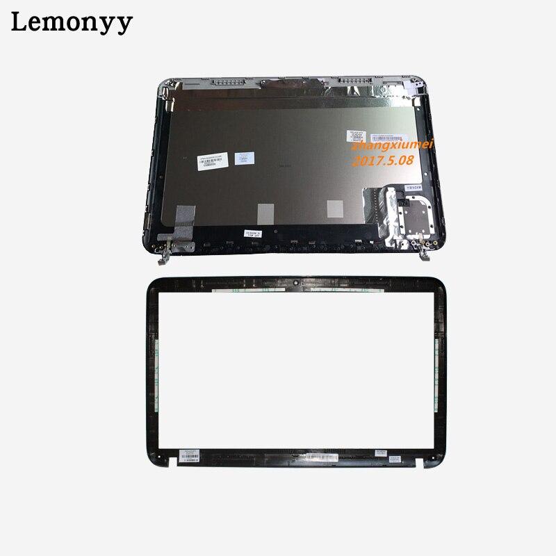 NEW LCD back silver cover/LCD front bezel For HP Pavilion DV6 DV6-6000 665288-001 640417-001 цена
