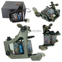 2014 New Alloy Tattoo machine High quality 10 wraps coil Tattoo & Body Art