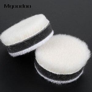 Image 3 - Disque de polissage en laine, 1 pouce, 25mm, 20 pièces, pour polissage, pour peinture de voiture, soin, pour outil rotatif Dremel, 20 pièces