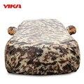 YIKA Camuflaje Costura Espesar Caso Cubierta de La Serie de Sunproof Para Coche Universal de Protección Anti-UV Tamaño YS-YXL Resistente a Los Arañazos